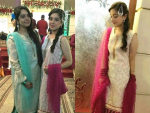 Arisha Razi and Sara Razi at a Wedding