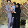 Ayeza Khan and Danish Taimoor Performing Umrah