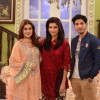 Mohsin Abbas and Kubra Khan in Morning Show for Drama Promotion