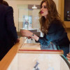 Iman Ali at Launch Of Omega Flagship Corner
