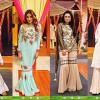 Pakistani Gharara Dresses 2017 Showcased at Jago Pakistan Jago