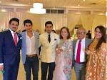 Shehryar Munawar with Family
