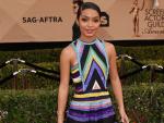 Michelle Dockery and Yara Shahidi Stepped in stylish stripes