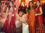 Ayesha Omar looks Glamorous in Red Lehnga