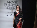 Preity Zinta on Ramp of Mumbai Fashion Week