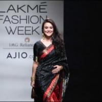 Preity Zinta on Ramp of Mumbai Fashion Week