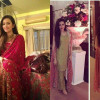 Sana Javed Pictures at a wedding