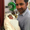 Sarfraz Ahmed New Born Baby Boy Pictures