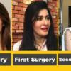 Shaista Lodhi After 1st Surgery & 2nd Surgery