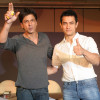 Shah Rukh Khan denies talking About films with Aamir Khan