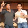 Shah Rukh Khan denies talking About films with Aamir Khan