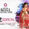 Bridal Couture Week 2017 Karachi Date Announcement