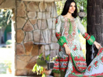 New Mahae Embroidered Lawn Collection 2017 by Shariq Textiles