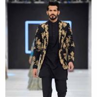Pakistani Men Short Sherwani Styles 2017