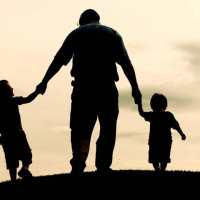Children with Father Grow Well and Healthier