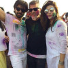 Urwa and Farhan Saeed Celebrating Holi Pictures