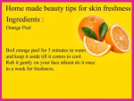 Beauty Tips using Natural Remedies