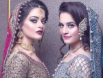 Aiman Khan and Minal Khan Photoshot