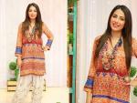 Actress Ushna Shah in Shalwar Kameez