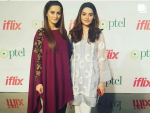 Aiman Khan And Minal Khan Spotted at an Event
