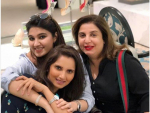 Shoaib Malik and Sania Mirza Vacationing in Dubai Pictures
