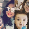 Sanam Jung Pictures of with Her Daughter Alaya Jafri