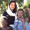 Video of Priyanka while Teaching Thumka to African Children