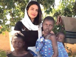 Video of Priyanka while Teaching Thumka to African Children