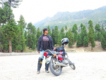 Sohai Ali Abro as Motorcycle Girl
