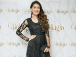 Ayeza Khan in Beautiful Look in Black Dress