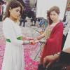 Hania Amir and Hadiqa Kiani Shoot for Bonanza Satrangi