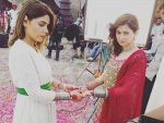 Hania Amir and Hadiqa Kiani Shoot for Bonanza Satrangi