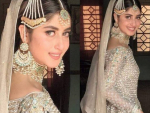 Sajal Ali clicks from the set of New Upcoming Drama