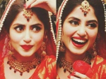 Sajal Ali On The Set Of Her New Drama Rangreza