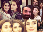 Celebrities at Sehri Party of Humayun Saeed