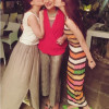 Hocane sisters at Saba Hamid's Birthday
