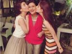 Hocane sisters at Saba Hamid's Birthday