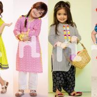 Nishat Linen Kids Eid Princess Collection 2017