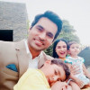 Beautiful Clicks of Veena Malik with her Husband and Kids