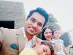 Beautiful Clicks of Veena Malik with her Husband and Kids