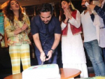 "Humayun Saeed's Birthday with cast of ""Mein Punjab Nahi Jaun Gi"""