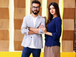 "Model Anum Fayyaz with her Husband in ""Jago Pakistan Jago"""