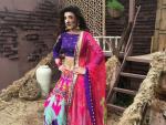 Urwa Hocane Looks Attractive in Lehenga Choli