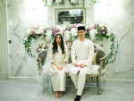 Wedding of Malaysian Princess with Dutch Model