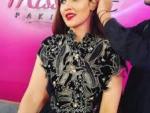Hareem Farooq Looks Stunning in Black Dresses Prepared by Umaima Mustafa