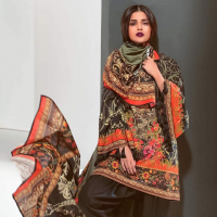 AlKaram Latest Collection 2017-18 Winter Dresses