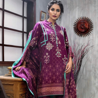 Lakhani Silk Winter Dress Collection 2017-18