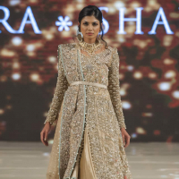 Saira Shakira Collection at PFW London 2017