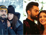 First Honeymoon Picture Anushka & Virat Kohli