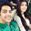 Gohar Mumtaz Pictures with his Wife
